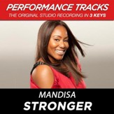 Stronger (High Key Performance Track Without Background Vocals) [Music Download]