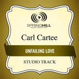 Unfailing Love (Medium Key Performance Track With Background Vocals) [Music Download]