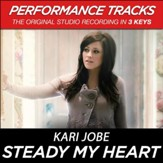 Steady My Heart (Medium Key Performance Track With Background Vocals) [Music Download]