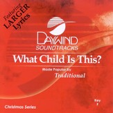 What Child Is This? Accompaniment CD