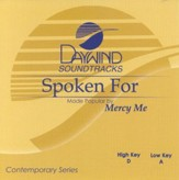 Spoken For, Accompaniment CD