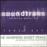 He Whispers Sweet Peace To Me, Accompaniment CD
