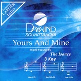 Yours and Mine, Accompaniment CD