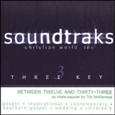 Between Twelve And Thirty-Three, Accompaniment CD