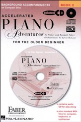 Accelerated Piano Adventures For the Older Beginner: Lesson Book 2 CD