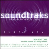 No Not One, Accompaniment CD
