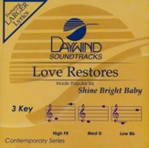 Love Restores, Acc CD