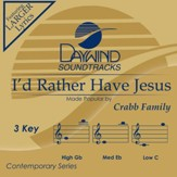 I'd Rather Have Jesus, Acc CD