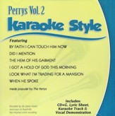 The Perrys, Volume 2, Karaoke Style CD