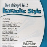 Men of Gospel, Volume 2 Karaoke CD