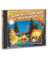 Camp Out Clip Art & Resources CD