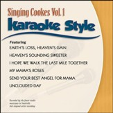 Singing Cookes Vol. 1, Karaoke Style