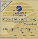 More than Anything, Accompaniment  Track