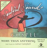 More Than Anything, Accompaniment CD