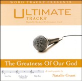 The Greatness Of Our God - Medium key performance track w/ background vocals [Music Download]