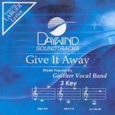 Give It Away, Accompaniment CD  - Slightly Imperfect