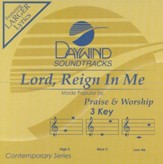 Lord Reign In Me, Accompaniment CD