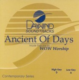 Ancient of Days, Accompaniment CD