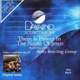There Is Power In The Name Of Jesus, Accompaniment CD