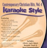 Contemporary Christian Hits, Vol. 4, Karaoke CD