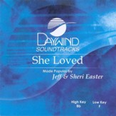 She Loved, Accompaniment CD
