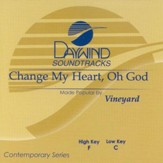 Change My Heart Oh God, Accompaniment CD