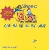 Give Me Oil In My Lamp, Accompaniment CD