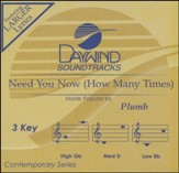 Need You Now (How Many Times), Accompaniment CD