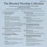 The Blended Worship Collection, Split-Track