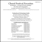 Choral Festival Favorites - Split Track