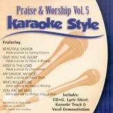 Praise & Worship, Vol. 5, Karaoke CD