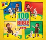 100 Singalong Bible Songs for Kids, 3 CD Set