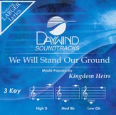 We Will Stand Our Ground Acc, CD
