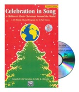 Celebration in Song: A Children's Choir Christmas Around the World CD Kit