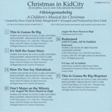 Christmas In KidCity, Split-Track Acc CD