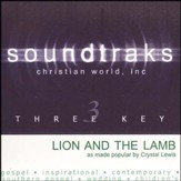 Lion And The Lamb, Accompaniment CD