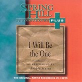 I Will Be The One, Accompaniment CD