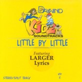 Little By Little, Accompaniment CD