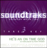He's An On Time God, Accompaniment CD