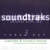 A Mother And Father's Prayer, Accompaniment CD