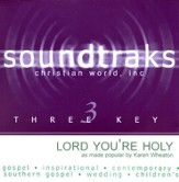 Lord You're Holy, Accompaniment CD