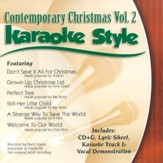 Contemporary Christmas, Volume 2, Karaoke Style CD