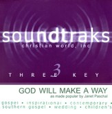 God Will Make A Way, Accompaniment CD
