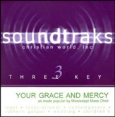 Your Grace And Mercy, Accompaniment CD