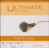Trust In Jesus (Low Key Performance Track w/ Background Vocals) [Music Download]