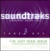 I've Just Seen Jesus, Accompaniment CD