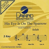 His Eye Is On The Sparrow, Acc CD