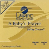 A Baby's Prayer, Accompaniment CD