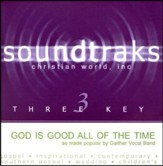 God Is Good All The Time, Accompaniment CD