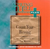 Count Your Blessings, Accompaniment CD